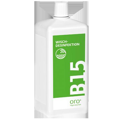 Купить концентрат, для дезинфекции и очистки поверхностей B15, 1литр.