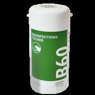 Купить тубу салфеток для дезинфекции поверхностей B60